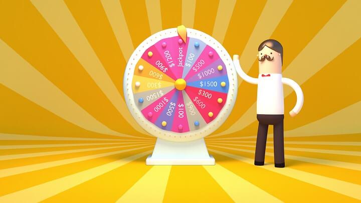 Lotteri på hjul